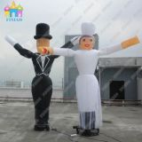 Inflatable Happiness Bride and Bridegroom Model