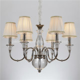 CE UL Approved Crystal Iron Chandelier Lighting (SL2068-6)