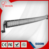 IP68 52inch 500W Curved Dual-Rows LED Light Bar