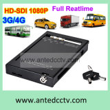 HD 4G 3G 4 Channel Car Digital Video Recorder with GPS Tracking WiFi