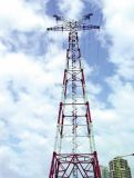 Steel Electric Power Transmission Tower with Steel Pipe