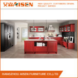 Classic Beautful Solid Wood Kitchen Cabinet From China
