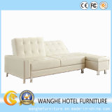 Home Furniture Living Room Genuine Leather Sofa Bed