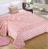 Super Soft Printed Flannel Blanket Sr-B170213-20 Printed Coral Fleece Blanket