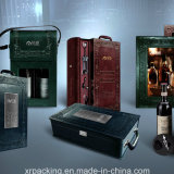 PU Leather Dual Wine Box/Case