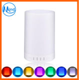 Mini Bluetooth Speakers with Colorful LED Night Lamp