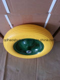 Yellow 3.50-8 PU Foam Wheel with Steel Rim