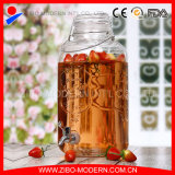 Wholesales Clear Glass Beverage Dispenser with Tap