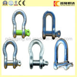 Rigging Hardware Galvanized European Type Bow Adjustable Shackle