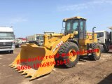 Earth Moving Machinery Zl50gn 5 Ton Wheel Loader 3m3/4m3 Bucket with A/C, Clamp, Pilot Control