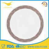 Cheap Custom Melamine Dinnerware Dinner Plate for Hotel