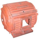 OEM Aluminium Motor Housing with Red Painting