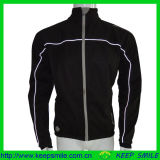 Custom Men′s Winter Cycling Apparel for Jacket with Reflective Piping
