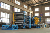 Three Four Roll Rubber Calender Production Manufacturing Line