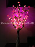 Hot Sale Red Morning Decoration Glory Lights for Home LED Flower Light with Pot Take The Place of Floor Lights