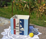 Country DIY Painting Wood Fruit Basket