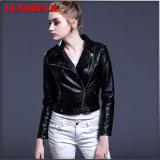 New Arrived Fashion Women′s PU Jacket