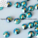 2018 Newest Best Selling Ss16 Blue Zircon Ab Hot Fix Rhinestone Glass Crystal Copy Preciosa Stone (HF-ss16 blue zircon ab /5A grade)