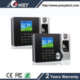 TCP/IP 2.4 Inch TFT Display Biometric System Fingerprint Time Attendance