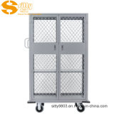 Aluminium Dridding Napkin Cart with Door for Hotel Guest Room (SITTY 99.3335D)