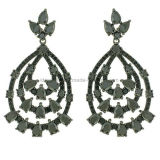 Best Quality Beatiful Hanging Earrings Jewelry for Party (KE3134)