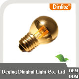 G45 4W LED filament bulb silver coating with CE&RoHS