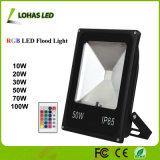 10W 20W 30W 50W 100W Waterproof RGB LED Flood Light