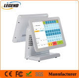 """Double Screen 15"""" All in One POS Cash Register with Capacitive Touchscreen"""