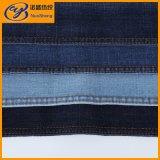 Indigo Cotton Polyester Spandex Woven Denim Fabric
