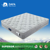 Pocketed Spring Mattress with Euro Top Memory Foam Plush Mattress for bedding Dfm-19