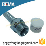10611 Dki Hydraulic Hose Metric Adapters and Fittings, Male Thread Hose Fitting, Male Compression Pipe Fitting, Hydraulic Hose Barb Fitting