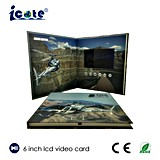6.0 Inch LCD Video Card for Tourist Souvenir Promotion