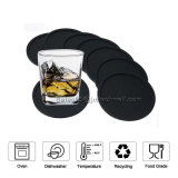 Set of 8 PCS New High Quality Durable Anti-Skidding Silicone Drink Coaster