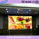 P2, P2.5, P5 Indoor Rental High Definition LED Display Screen Sign Board with 480X480mm Die-Casting Cabinet for Office Building