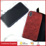 New Leather Ultra-Thin Matte PU Cell Phone Case for iPhone X