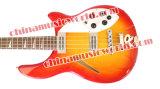 Afanti Music Semi-Hollow Ricken Electric Bass Guitar (ARC-203)