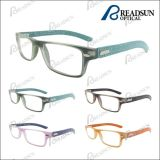 New Style Plastic Leather Reading Glasses (RP483034)