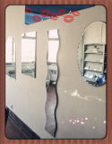China High Quality Frameless Float Bathroom Mirror Glass in Customer Size