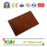 4mm 5mm 6mm Bronze Flora Patterned Glass/Patterned Glass/Tinted Patterned Glass