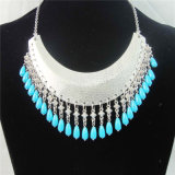 New Item Beands Hammered Alloy Fashion Jewellery Necklace