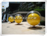 Double Skin Ground Balloon Inflatable Rooftop Ball for Sale