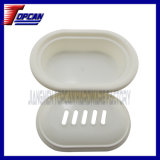 Durable Plastic Light Soap Tray Soap Case Soap Dish