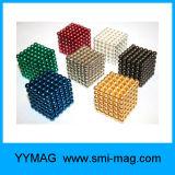 Colorful NdFeB D3mm D5mm Magnetic Beads/Balls