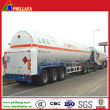 25-59.7m3 LPG CNG LNG Tanker Semi Container Trailer Truck