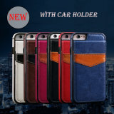 Wallet Mobile Phone Leather Case with Card Holder for iPhone 6