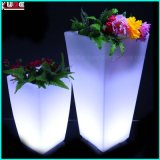 Outdoor LED Planter Pots Inverted Trapezoidal Flower Pots