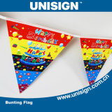 Unisign Hot Selling Bunting Flag with Customized Size and Design (UBF-1)