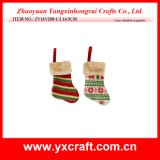 Christmas Decoration (ZY16Y208-1-2 14.5CM) 6'' Christmas Hanging Sock Wholesale