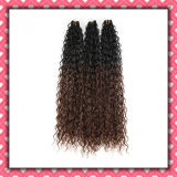 Cheap Price Brazilian Human Hair Two Tone Color Curly 22inches