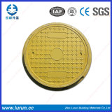 En124 Excellent Aging Resistance Composite Round Manhole Cover with Frame